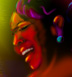 Gladys Knight- art by DC Langer